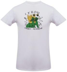 Футболка «Lion Squash», белая