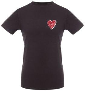 Футболка «Love squash», черная