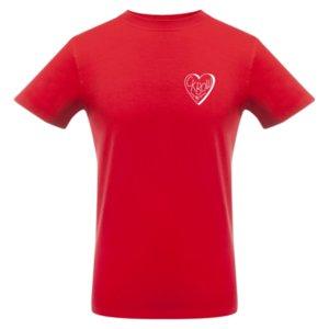Футболка «Love squash», красная
