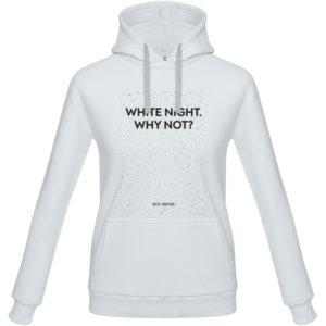 Толстовка «White night. Why not», белая
