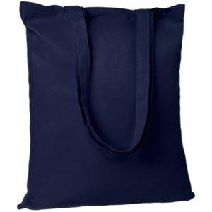Холщовая сумка Countryside, темно-синяя