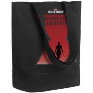 Холщовая сумка Nothing Lasts Forever, черная