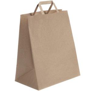 Пакет бумажный Rata, большой, крафт