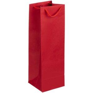 Пакет под бутылку Vindemia, красный