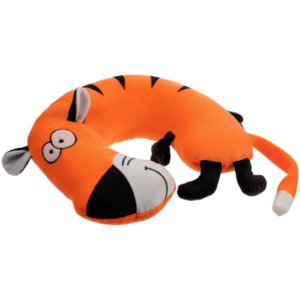 Подушка под шею Bardy, темно-оранжевая