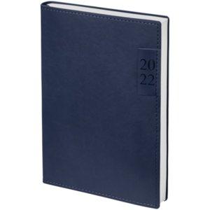 Ежедневник Time, датированный, синий