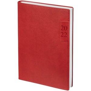 Ежедневник Time, датированный, красный