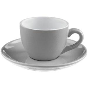 Чайная пара Cozy Morning, серая