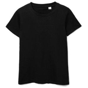 Футболка женская T-bolka 140 Lady, черная