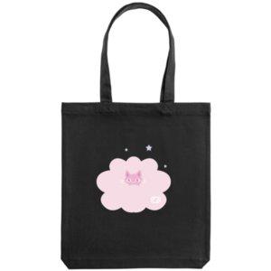 Холщовая сумка «Дева», черная