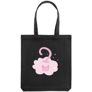 Холщовая сумка «Скорпион», черная