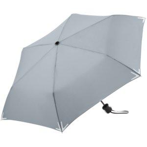 Зонт складной Safebrella, серый