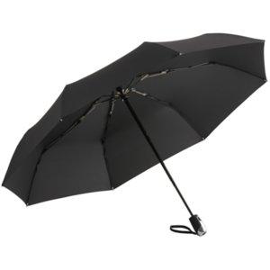 Зонт складной Steel, черный