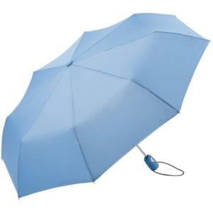 Зонт складной AOC, светло-голубой