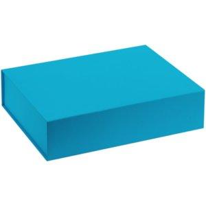 Коробка Koffer, голубая