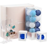 Набор Merry Moments для шампанского, синий