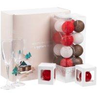 Набор Merry Moments для шампанского, красный